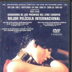Cine: 2046 DVD ( 2 DVD- WONG KAR WAI) ...DEJESE SEDUCIR POR UNA FILM QUE ES UN INCREIBLE POEMA. Lote 112610315