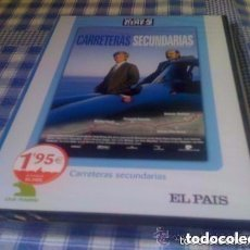 Cine: CARRETERAS SECUNDARIAS - PELÍCULA EN DVD - CINE ESPAÑOL COLECC. EL PAÍS - NUEVO Y PRECINTADO. Lote 68970673