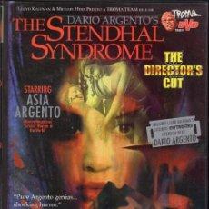 Cine: EL SINDROME DE STENDHAL. DVD (DARIO ARGENTO) ZONA 1. EDICIÓN USA. Lote 264129535