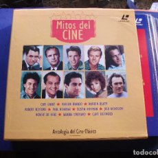 Cine: LASER DISC COLECCION MITOS DEL CINE SPAIN 1994 PDELUXE. Lote 69292225