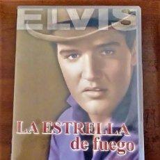 Cine: ELVIS PRESLEY DVD+POSTAL POSTAL 14 X 19 CM : FLAMING STAR - LA ESTRELLA DE FUEGO. Lote 69480705