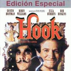 Cine: DVD HOOK (EL CAPITÁN GARFIO ) DUSTIN HOFFMAN & ROBIN WILLIAMS (EDICIÓN ESPECIAL). Lote 69485953