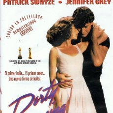 Cine: DVD DIRTY DANCING PATRICK SWAYZE. Lote 69491685