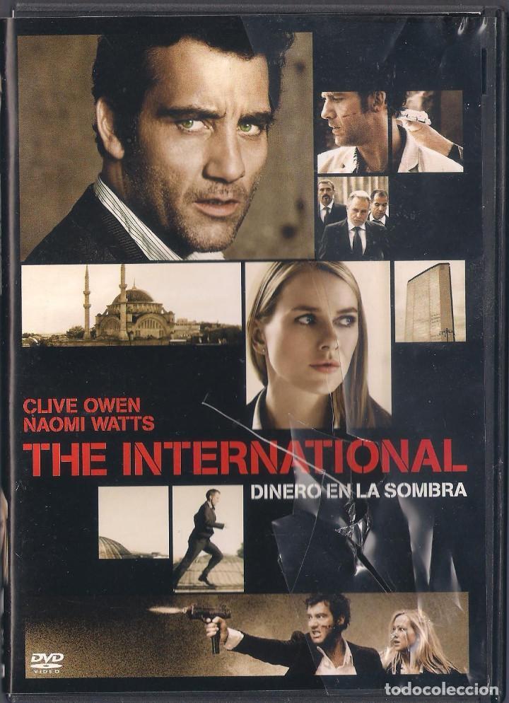 THE INTERNATIONAL: DINERO EN LA SOMBRA - TOM TYKWER - DVD 2009 - SONY (Cine - Películas - DVD)
