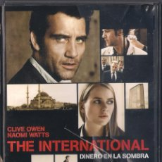 Cine: THE INTERNATIONAL: DINERO EN LA SOMBRA - TOM TYKWER - DVD 2009 - SONY. Lote 69493613