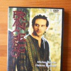 Cine: DVD FRANCESCO - LILIANA CAVANI - MICKEY ROURKE - HELENA BONHAM (W5). Lote 69597365