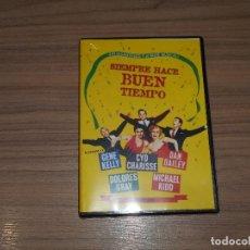 Cine: SIEMPRE HACE BUEN TIEMPO DVD GENE KELLY NUEVA PRECINTADA. Lote 98727307