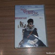 Cine: NADIE QUIERE LA NOCHE DVD JULIETTE BINOCHE NUEVA PRECINTADA. Lote 218463366