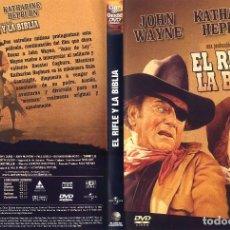 Cine: EL RIFLE Y LA BIBLIA DESCATALOGADA. Lote 69761913