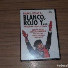 Cine: BLANCO, ROJO Y ... DVD SOPHIA LOREN FERNADO REY NUEVA PRECINTADA. Lote 144205861