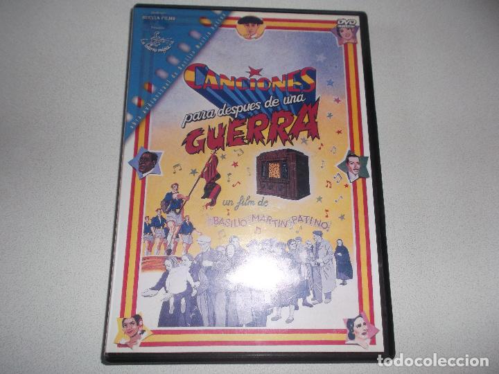 BASILIO MARTIN PATINO CANCIONES PARA DESPUES DE UNA GUERRA (Cine - Películas - DVD)