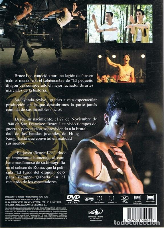 Cine: DVD EL JOVEN BRUCE LEE - Foto 2 - 70228365