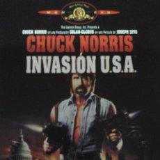 Cine: INVASION USA CHUCK NORRIS. Lote 70304101
