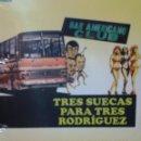 Cine: TRES SUECAS PARA TRES RODRIGUEZ. Lote 70318621