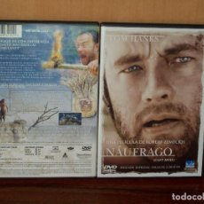 Cine: NAUFRAGO - TOM HANKS - DIRIGIDA POR ROBERT ZEMECKIS - DOBLE DVD EDICION ESPECIAL. Lote 70758401