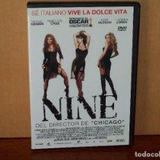 Cine: NINE - NICOLE KIDMAN - PENELOPE CRUZ - SOPHIA LOREN - DIRIGIDA POR ROB MARSHALL - DVD. Lote 71019885