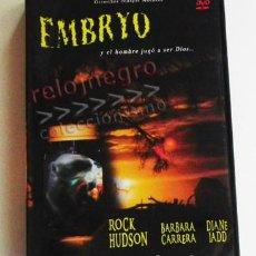 Cine: EMBRYO ( EMBRIÓN ) - DVD PELÍCULA TERROR SUSPENSE - ROCK HUDSON B CARRERA -EL HOMBRE JUGÓ A SER DIOS. Lote 71022037