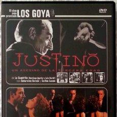 Cine: JUSTINO, UN ASESINO DE LA TERCERA EDAD + INTRUSO. Lote 71063329
