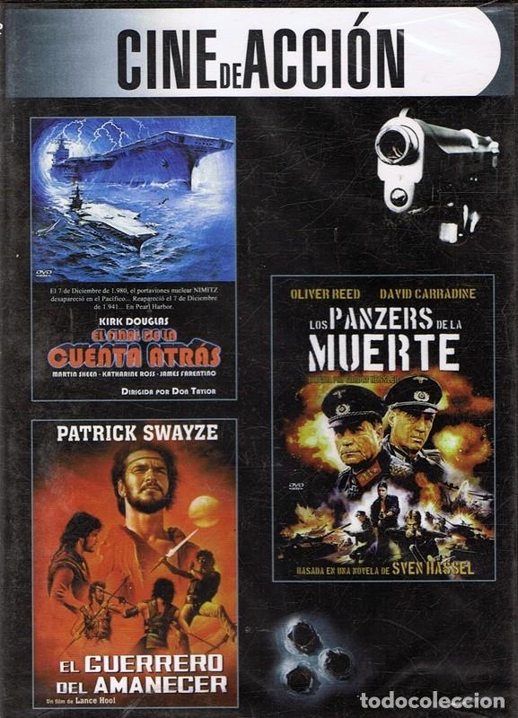 DVD CINE DE ACCIÓN 3 PELÍCULAS (PRECINTADO) (Cine - Películas - DVD)