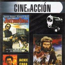 Cine: DVD CINE DE ACCIÓN 3 PELÍCULAS (PRECINTADO). Lote 71067093