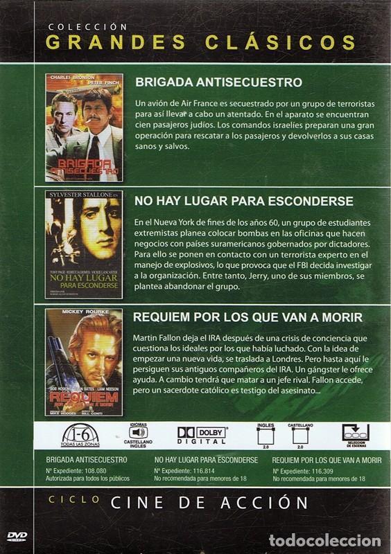 Cine: DVD CINE DE ACCIÓN 3 PELÍCULAS - Foto 2 - 71069633
