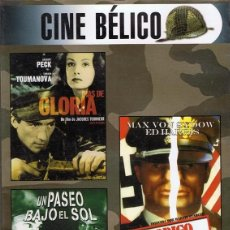 Cine: DVD CINE BÉLICO 3 PELÍCULAS . Lote 71070221