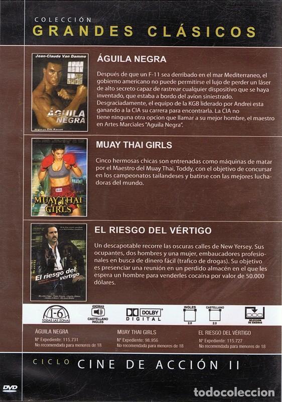Cine: DVD CINE DE ACCIÓN II 3 PELÍCULAS - Foto 2 - 71070813