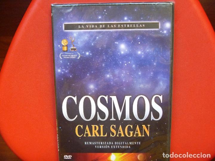 Cine: Cosmos DVD 12 Coleccion Carl Sagan precintados - Foto 4 - 68502657
