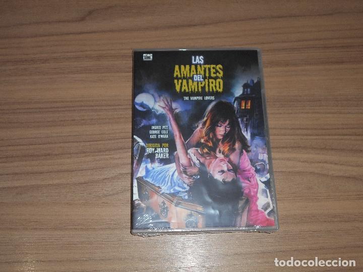 LAS AMANTES DEL VAMPIRO DVD TERROR NUEVA PRECINTADA (Cine - Películas - DVD)