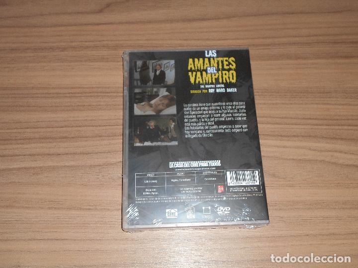 Cine: Las AMANTES del VAMPIRO DVD Terror NUEVA PRECINTADA - Foto 2 - 195369051