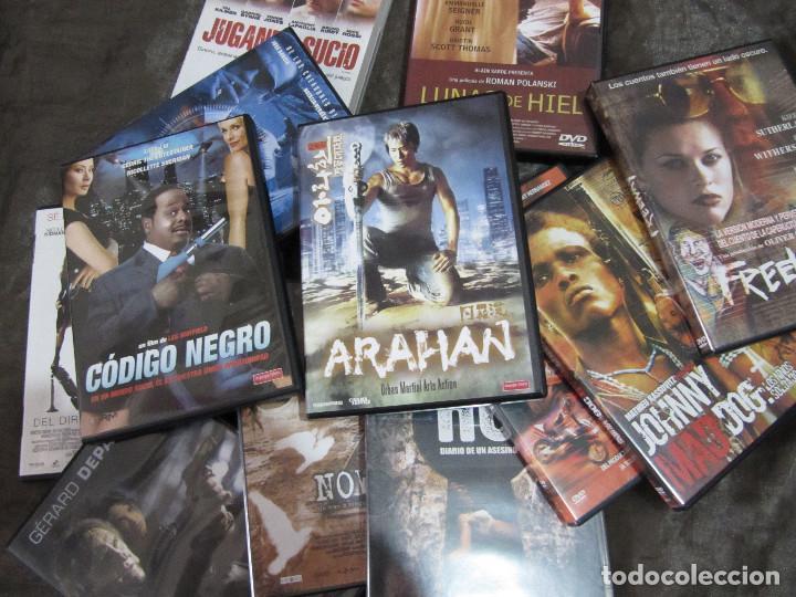 LOTE 17 DVDS ACCION.. INTRIGA..BUEN ESTADO (Cine - Películas - DVD)