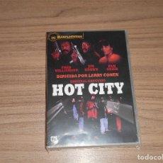Cine: HOT CITY CIUDAD CALIENTE DVD DE LARRY COHEN JIM BROWN CASTELLANO NUEVA PRECINTADA. Lote 98727343