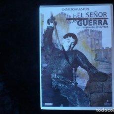 Cine - el señor de la guerra, charlton heston - dvd nuevo precintado - 71473743