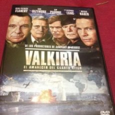 Cine: VALKIRIA, EL AMANECER DE CUARTO REICH, 96 MINUTOS. Lote 71482007