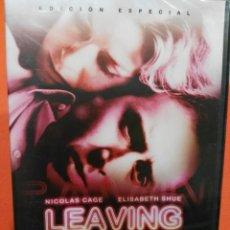 Cine: DVD. LEAVING LAS VEGAS. @@@@. Lote 71535911