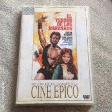 Cine: EL TERROR DE LOS BARBAROS DVD CON STEVE REEVES **CINE ÉPICO**. Lote 71538771