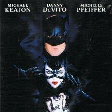 Cine: DVD BATMAN VUELVE MICHAEL KEATON. Lote 71590987