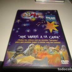 Cine: DVD LOS LUNNIS NOS VAMOS A LA CAMA DVD MAS CD . Lote 78376045