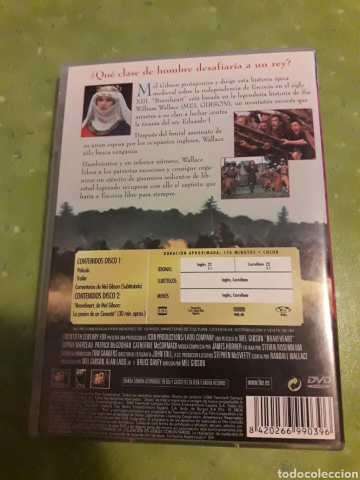Cine: braveheart dvd 2 discos - Foto 2 - 71727791
