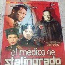 Cine: EL MEDICO DE STALINGRADO, 106 MINUTOS, BLANCO Y NEGRO. Lote 71750599