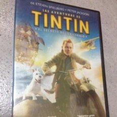 Cine: TINTIN, EL SECRETO DEL UNICORNIO. Lote 71751859