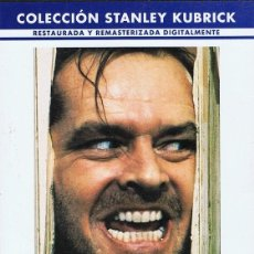 Cine: DVD EL RESPLANDOR STANLEY KUBRICK . Lote 72019427