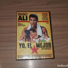 Cinema: YO, EL MEJOR DVD MUHAMMAD ALI CASSIUS CLAY ERNEST BORGNINE NUEVA PRECINTADA. Lote 206338587