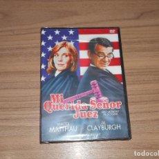 Cine: MI QUERIDA SEÑOR JUEZ DVD WALTER MATTHAU NUEVA PRECINTADA. Lote 187461228
