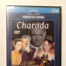 Cine: CHARADA CARY GRANT AUDREY HEPBURN. DVD FILMOTECA DE EL CULTURAL. NUEVO CON PRECINTO ORIGINAL. Lote 72223551