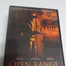 Cine: OPEN RANGE / ROBERT DUVALL - KEVIN COSTNER / DVD. Lote 72296703