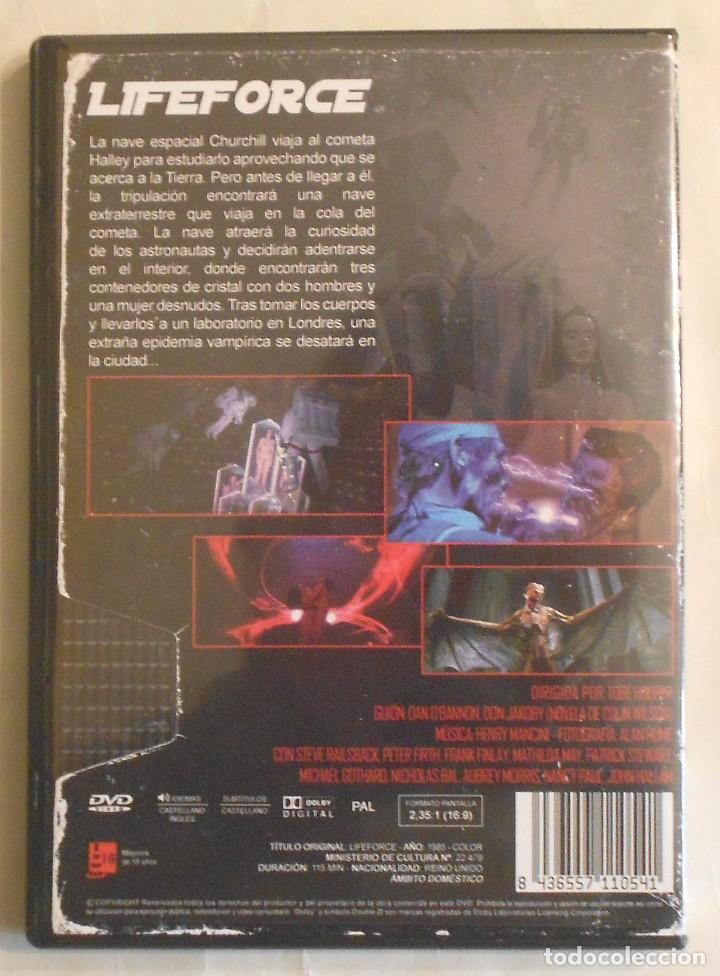 Cine: DVD - LIFEFORCE - FUERZA VITAL - Foto 2 - 72320587