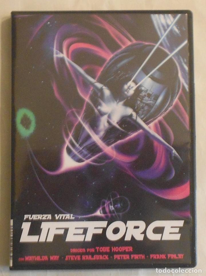 Cine: DVD - LIFEFORCE - FUERZA VITAL - Foto 4 - 72320587