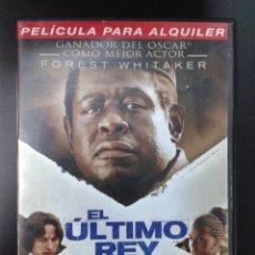 Cine: EL ULTIMO REY DE ESCOCIA (FOREST WHITAKER). Lote 72328423