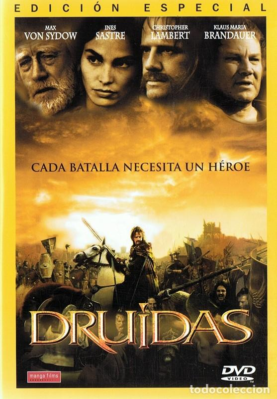 DVD DRUIDAS CHRISTOPHER LAMBERT (EDICIÓN ESPECIAL) (Cine - Películas - DVD)